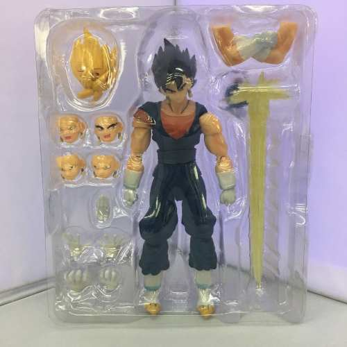 Boneco Articulado Vegetto Ssj Dragon Ball Super