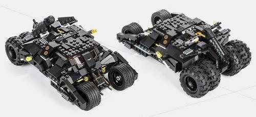 Carro Batman Batmóvel Tumbler - 325 Peças