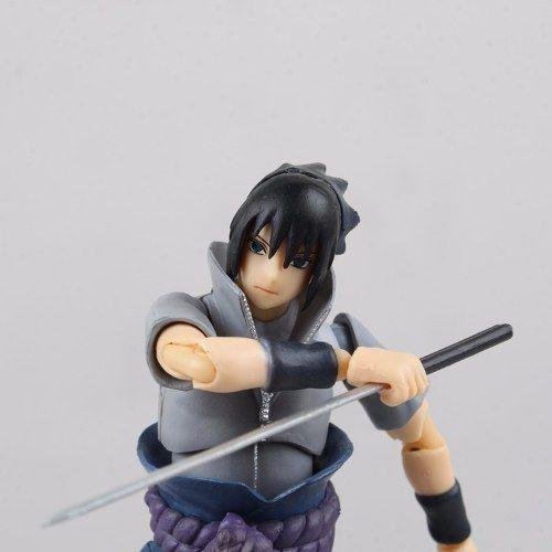 Action Figure Sasuke Uchiha Naruto Articulado Pronta Entrega