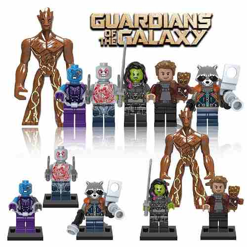Lego Guardiões Da Galáxia Marvel Big Groot Vingadores