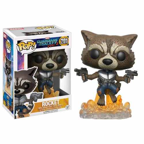 Funko Pop Movies: Guardiões Da Galaxia - Rocket