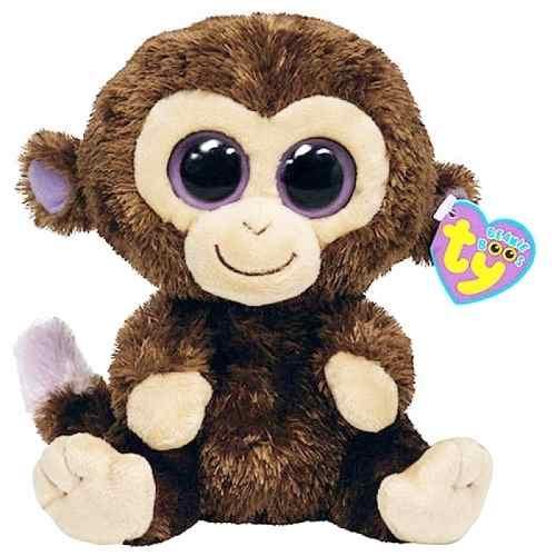 Beanie Boos Pelúcias - Macaco - Coconut - Ty Dtc