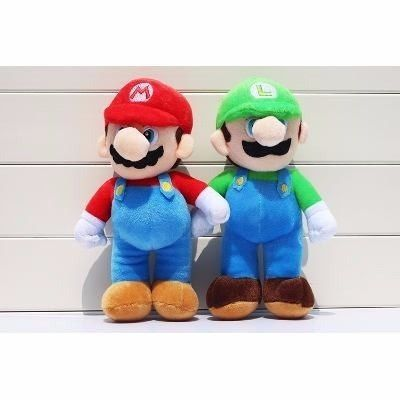 Kit Pelúcia Mario, Luigi E Yoshi