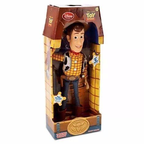 Boneca Woody Da Toy Story 38cm Original Da Loja Disney