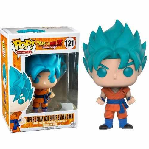 Funko Pop Dragon Ball Super Saiyan God Goku Exclusivo #121