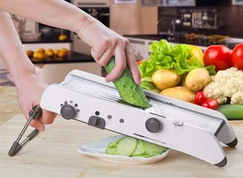 Fatiador Cortador De Legumes Pl8 Professional Mandoline