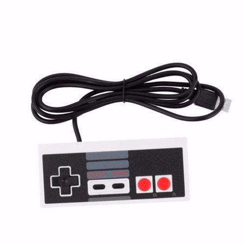 Controle Joystick Usb Retrô Nes (nintendinho) -plug And Play