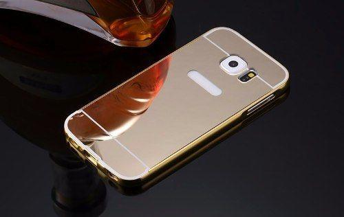 Bumper Aluminio Celular Galaxy S7 Edge G935 +tampa Espelhado
