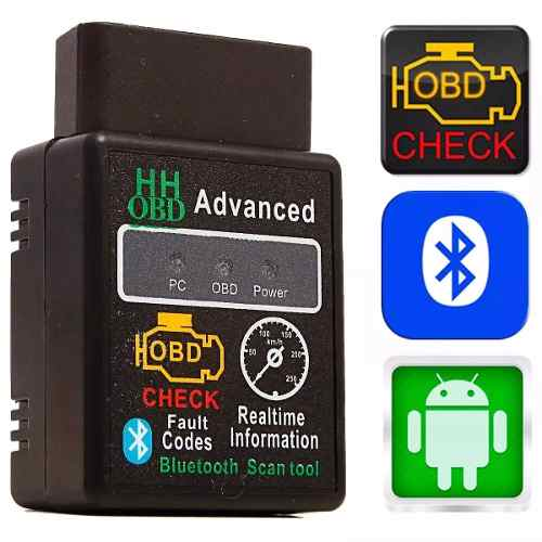 Mini Scanner Automotivo Obd2 Bluetooth Nova Versão 2017