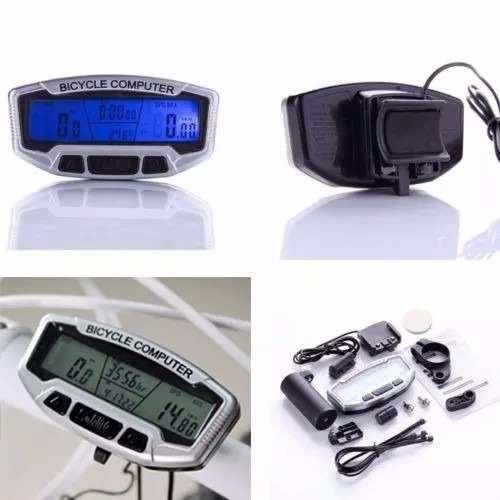 Velocímetro, Odômetro E Computador Digital Bike 28 Funções