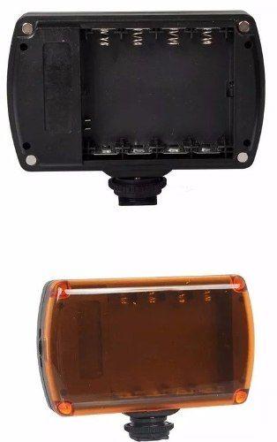 Led Xh96 Iluminador P/ Cameras Dsrl Canon Nikon Sony A Pilha