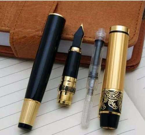 Caneta Tinteiro Luxo Hero 901 Preta / Dourado