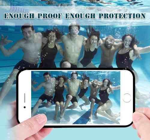 Kit 20 Cases - Prova D Agua Apple Iphone 6s 6 Plus 7 7plus