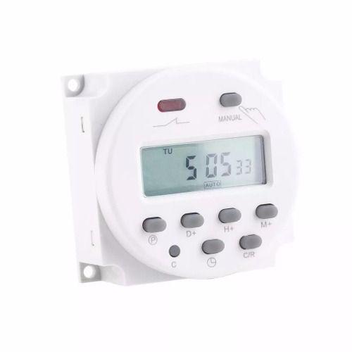 Timer Temporizador Digital Nano 110v Menor Preço