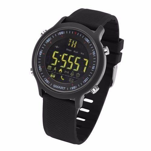 Relógio Bluetooth Ex18 Pedometro Sport Smartwatch Android