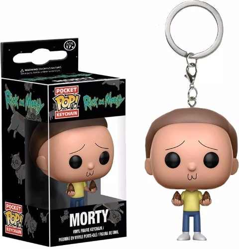 Funko Pop! Chaveiro - Rick E Morty - Morty