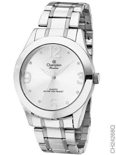 Relógio Champion Feminino Prata - Ch24268q