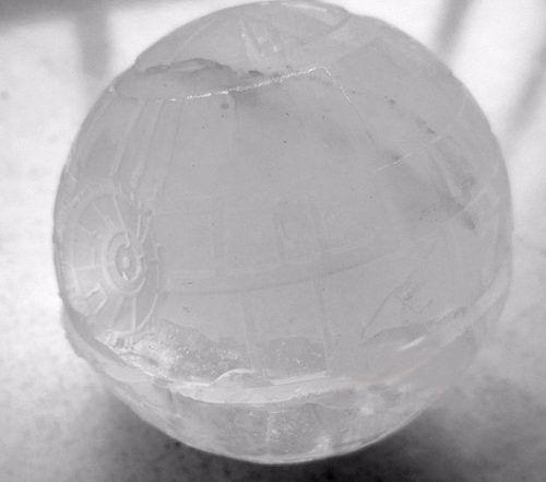 Star Wars - Forma Silicone Gelo Chocolate - Estrela Da Morte