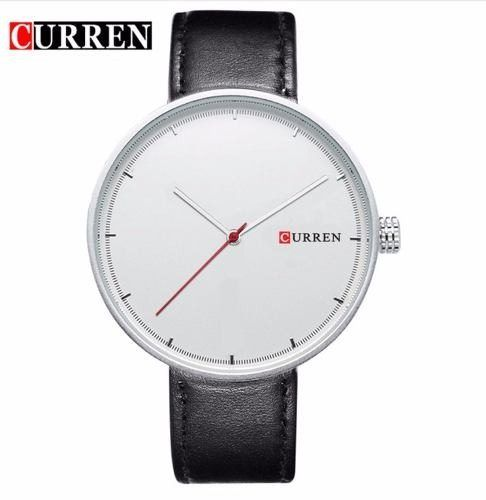 Relógio Masculino Curren Original 8223 Oriente Prata