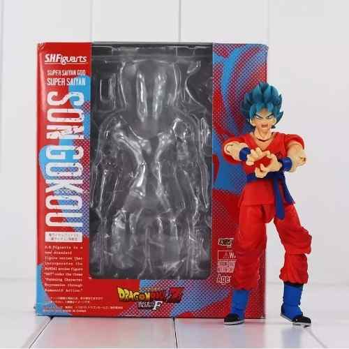 Boneco Articulado Goku Blue Dragon Ball Super