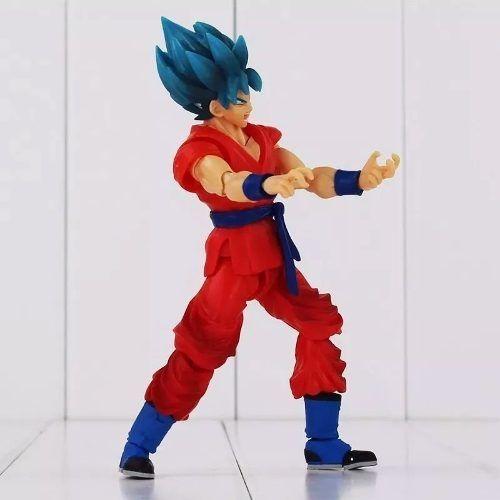 Boneco Articulado Goku Blue Dragon Ball Super