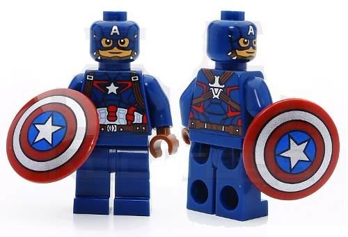 Kit 8 Vingadores Marvel Avengers Hulk Lego Guerra Infinita