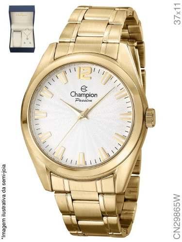 Relógio Champion Feminino Passion Cn29865w Kit Brinde