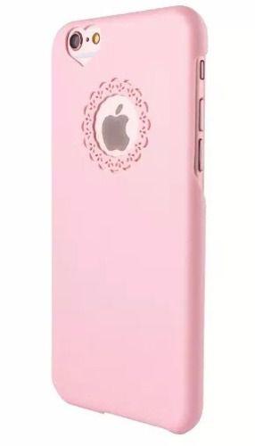 c87aff056 Capinha Capa Case Apple Iphone 6 Acrílico Rosa Coração - SUPER25