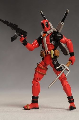Boneco Action Figure Deadpool Hasbro X-men Origins Wolverine