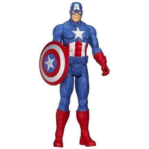 Boneco Capitão América Marvel 30c Vingadores Guerra Infinita