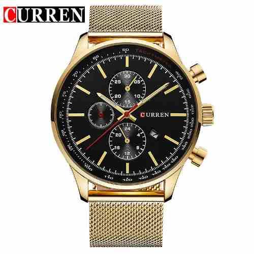 Promoção Relógio Masculino Curren Luxo Original 8227