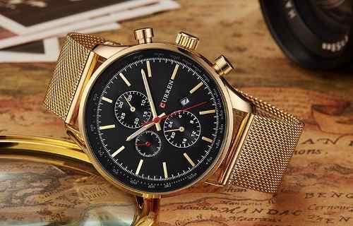 Relógio Masculino Curren Luxo Original 8227