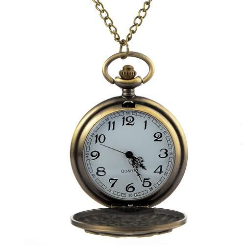 Relógio De Bolso Hogwarts Quatro Casas Harry Potter