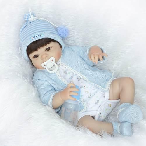 Bebê Reborn Menino De Silicone Pronta Entrega