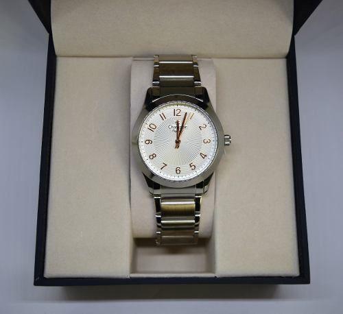 Relógio Champion Feminino Prata Cn25109q Original