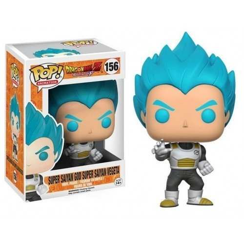 Funko Pop Vegeta God Ssj Blue Dragon Ball Super Saiyan