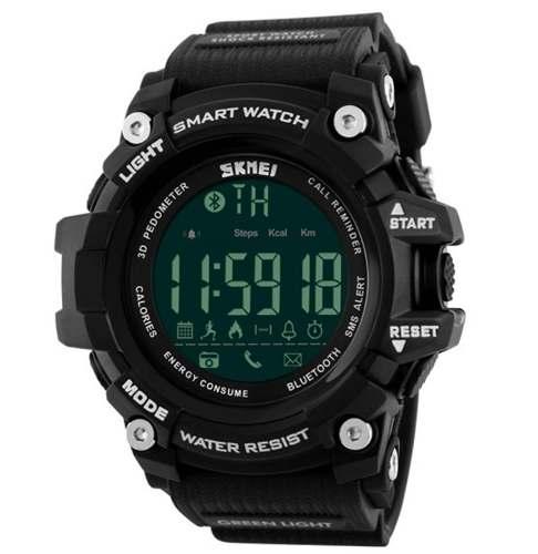Smart Watch Skmei 1227 Bluetooth - 50 M - Lançamento 2018