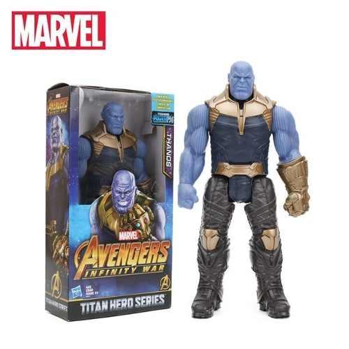 Boneco Thanos Vingadores Guerra Infinita Avengers - Titan Hero