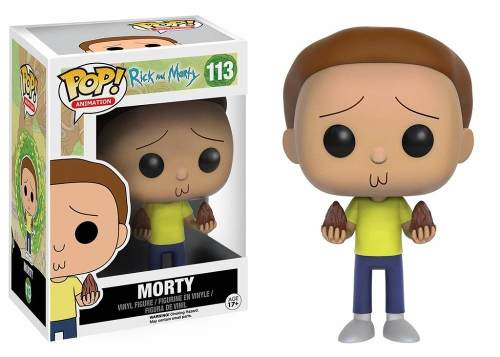Kit 2 Funko Pop Rick E Morty - Boneco Morty E Rick