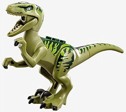 Lego Dinossauros Jurassic World Velociraptor Charlie
