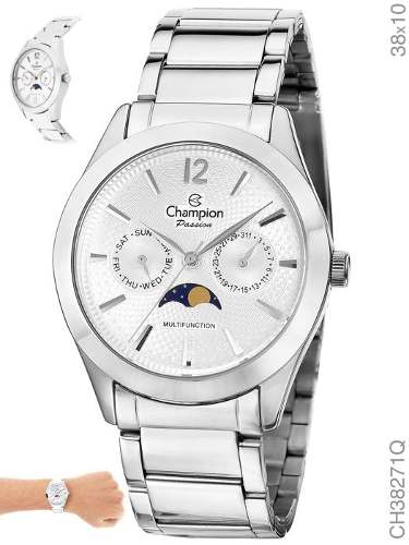 Relógio Champion Feminino Analogico Multi-função Ch38271q