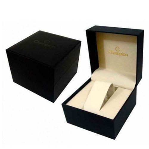 Relógio Champion Feminino Dourado Promoção Jeans Cn26975a