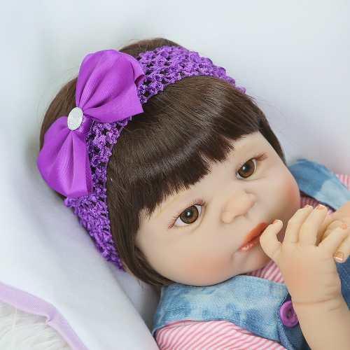 Bebê Realista Real Reborn 100% Silicone. Pronta Entrega Valentina