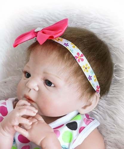 Bebê Realista Real Reborn 100% Silicone. Pronta Entrega Emanuely