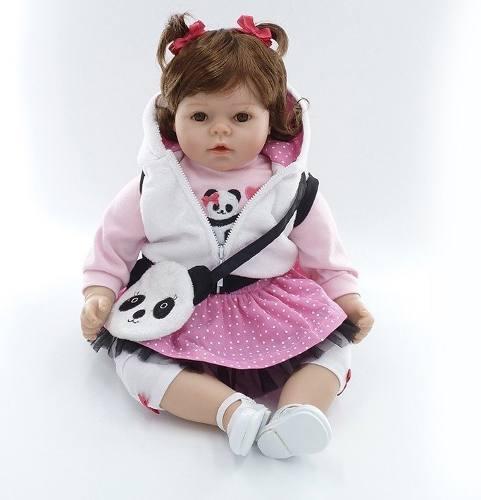 Boneca Bebê Reborn 53cm +brindes Pronta Entrega Clarissa