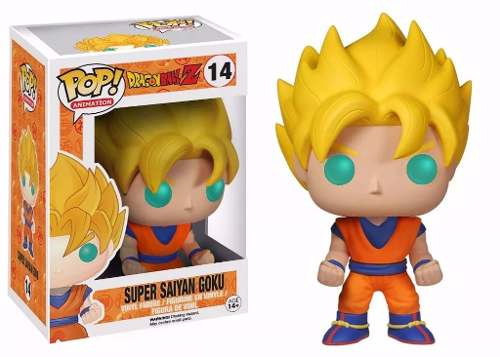Dragon Ball Z - Boneco Ss Goku Pop Animation Funko 10cm