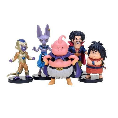 Kit Com 20 Personagens Dragon Ball Bonecos Miniaturas Goku
