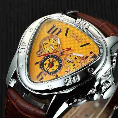Relógio Automático Jaragar Novo Design Fashion Pronta Entreg