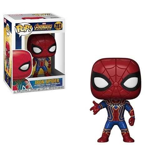 Boneco Funko Pop Homem Aranha Guerra Infinita Iron Spider
