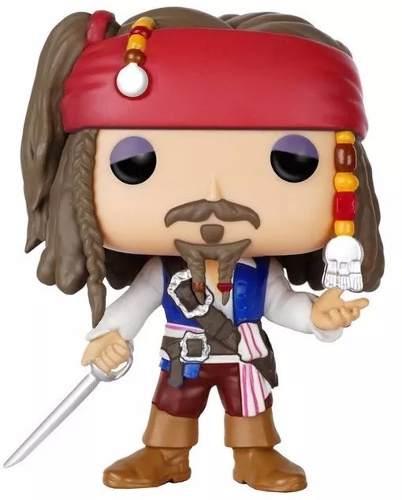 Piratas Do Caribe Capitão Jack Sparrow Pop! Vinyl - Funko